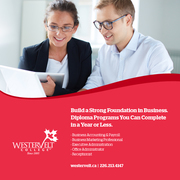 Earn Your Business Diploma With Westervelt College in London,  Ontario