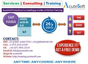 SAP HANA Online Training by AcuteSoft with 10+ years SMEs.