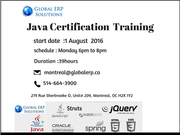 Java Training in Montreal