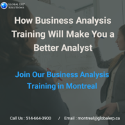 Business Analysis (BA) Training in Montreal