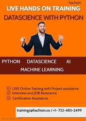 Datascience with Python Online Live Training with Internship